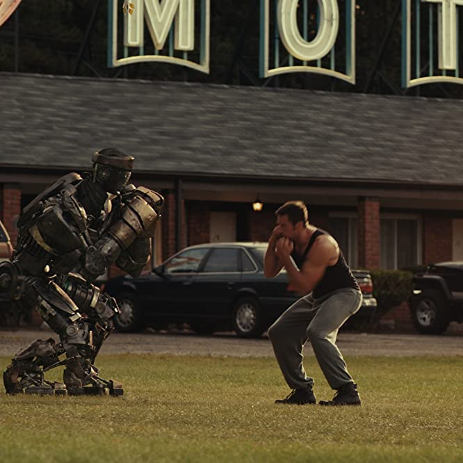 Hugh Jackman in Real Steel (2011)