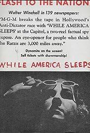 While America Sleeps Poster