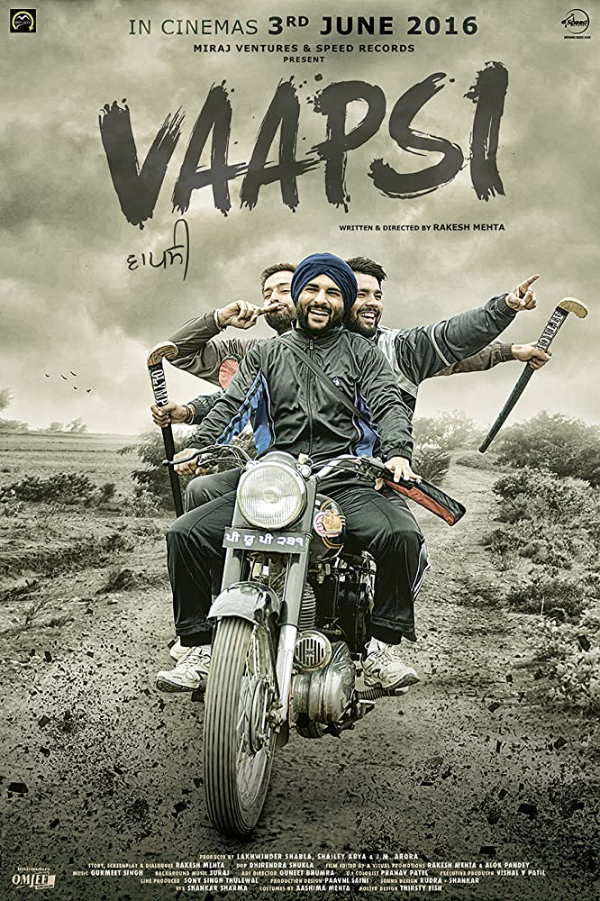 Vaapsi 2016 Punjabi Full Movie 1GB