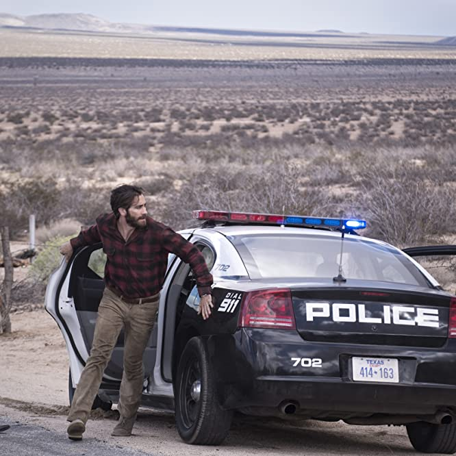 Jake Gyllenhaal, Michael Shannon, and Franco Vega in Nocturnal Animals (2016)