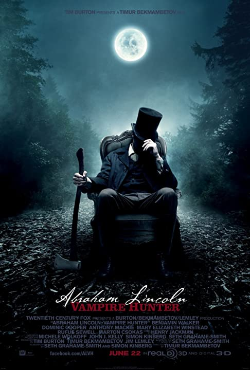 Poster Of Abraham Lincoln Vampire Hunter (2012) Full Movie Hindi Dubbed Free Download Watch Online At movies365.in
