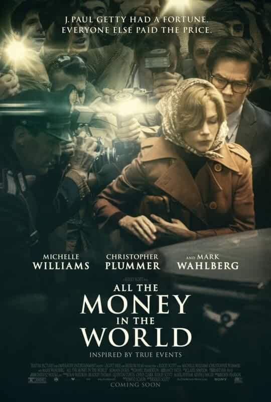 All The Money In The World 2017 Full Movie 720p BRRip Esub Online Download