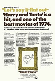 Harry and Tonto Poster