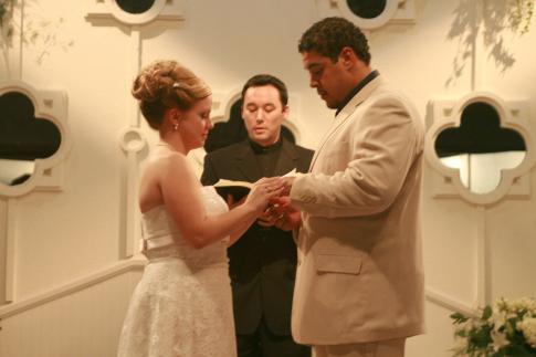 Derek Duncan And Steve Byrne In The Real Wedding Crashers 2007