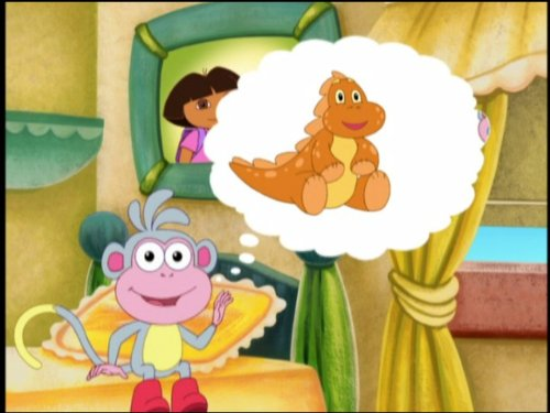 """Dora the Explorer"" Boots' Cuddly Dinosaur (TV Episode) - IMDb"