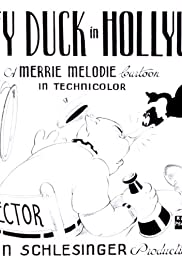 Daffy Duck in Hollywood Poster