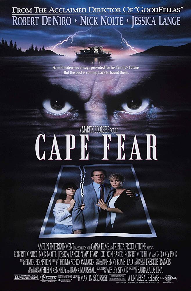 Cape Fear (1991) Dual Audio Hindi 350MB BluRay 480p x264 ESubs