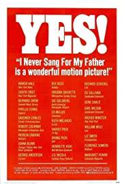 I Never Sang for My Father Poster