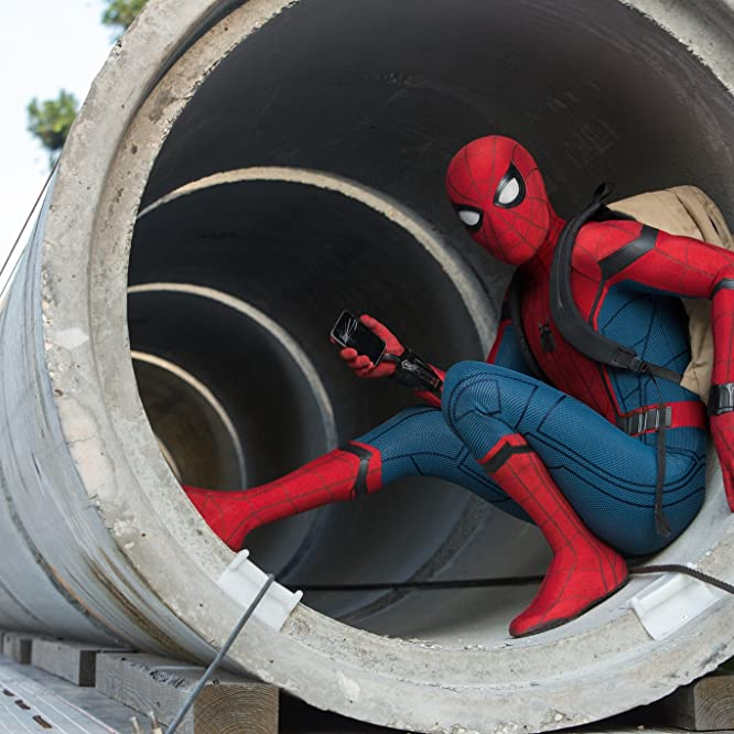 Tom Holland in Spider-Man: Homecoming (2017)