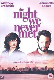 The Night We Never Met Poster