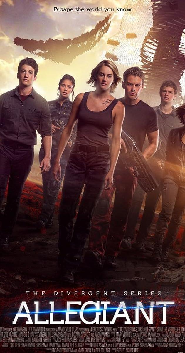 Divergentės serija: Lojalioji / The Divergent Series: Allegiant (2016) Online