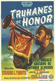 Truhanes de honor Poster