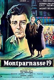 Montparnasse 19 Poster