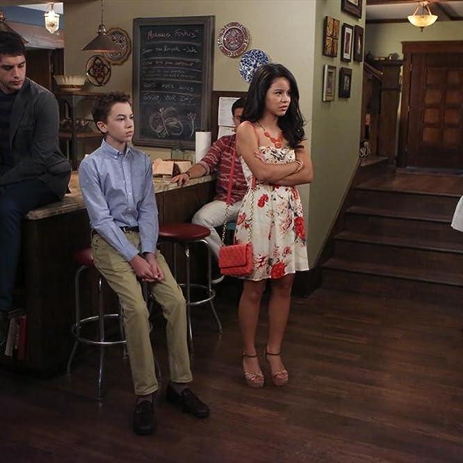 Jake T. Austin, Cierra Ramirez, Maia Mitchell, David Lambert, and Hayden Byerly in The Fosters (2013)