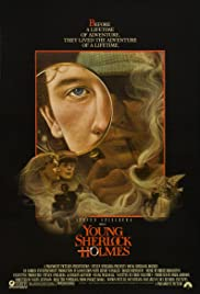 Young Sherlock Holmes Poster
