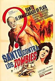 Santo contra los zombies Poster