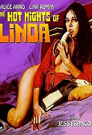 Les nuits brûlantes de Linda Poster