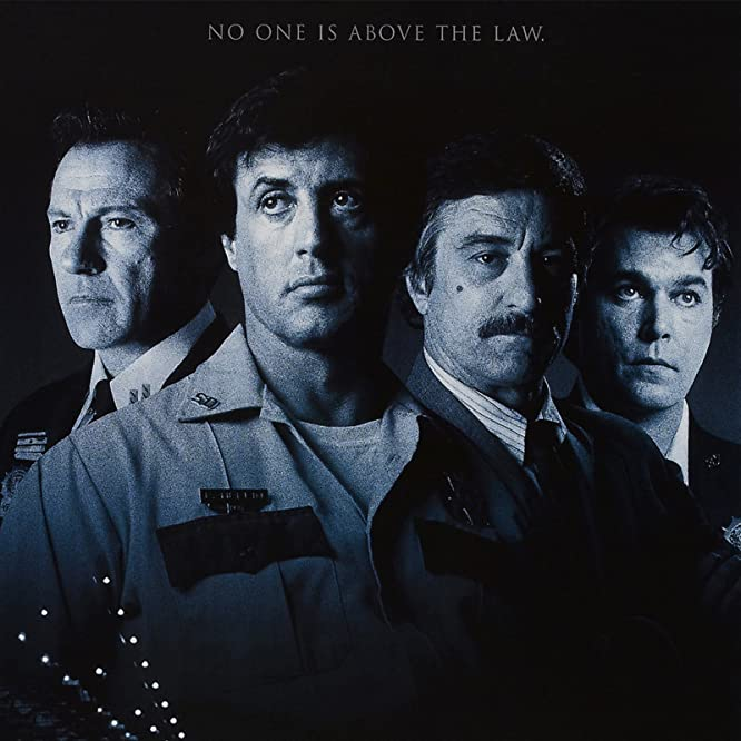 Robert De Niro, Harvey Keitel, Sylvester Stallone, and Ray Liotta in Cop Land (1997)