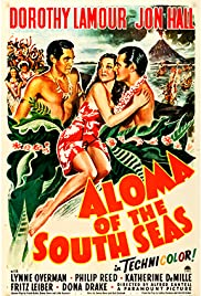 Aloma of the South Seas Poster