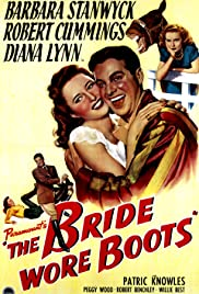 The Bride Wore Boots Poster