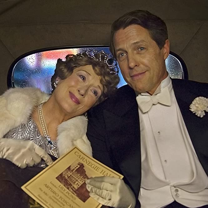 Hugh Grant and Meryl Streep in Florence Foster Jenkins (2016)