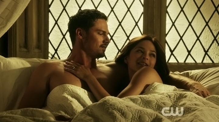 Kristin Kreuk and Jay Ryan in Beauty and the Beast (2012)