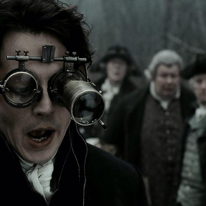 Johnny Depp, Ian McDiarmid, Michael Gambon, and Richard Griffiths in Sleepy Hollow (1999)
