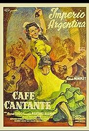 Café Cantante Poster