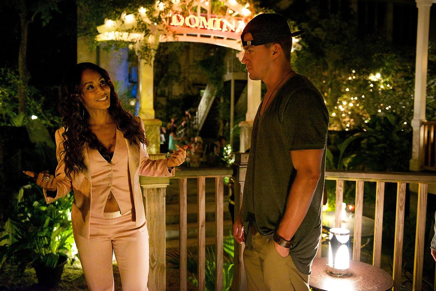 Jada Pinkett Smith and Channing Tatum in Magic Mike XXL (2015)