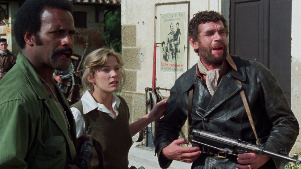 Fred Williamson, Debra Berger, and Michel Constantin in Quel maledetto treno blindato (1978)