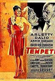 Tempête Poster