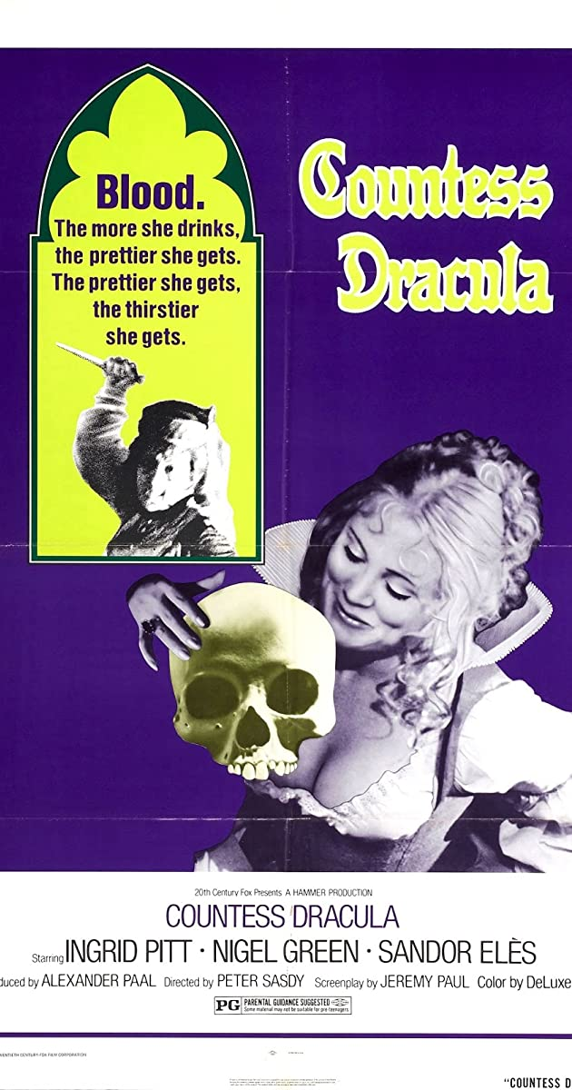 Countess Dracula (1971) - Plot Summary - IMDb