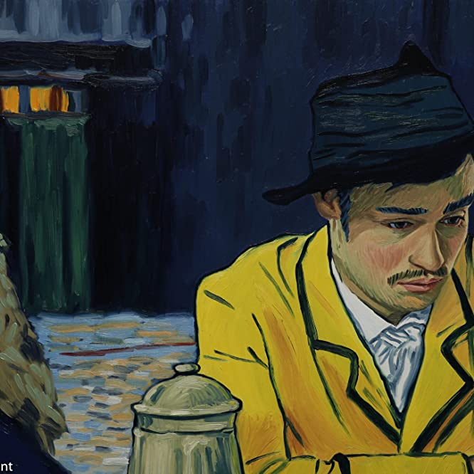 Douglas Booth in Loving Vincent (2017)