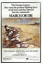 March or Die Poster