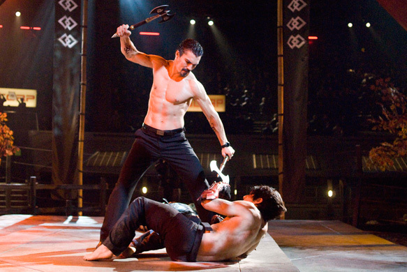 Ian Anthony Dale and Jon Foo in Tekken (2010)