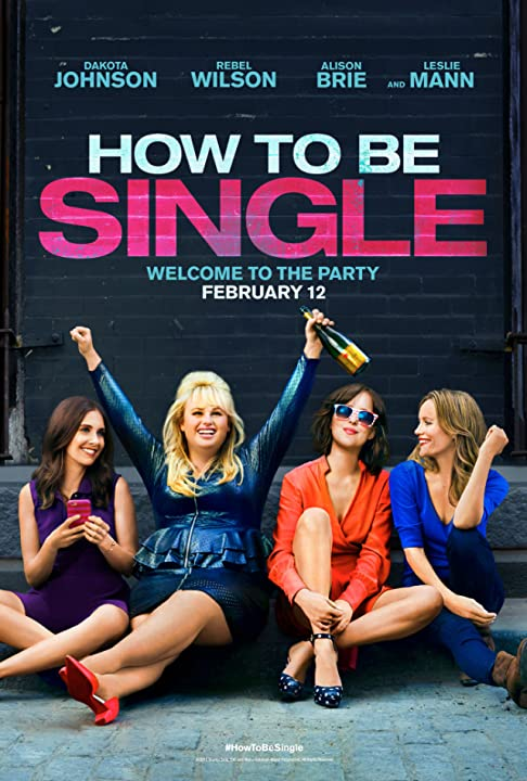Leslie Mann, Dakota Johnson, Alison Brie, and Rebel Wilson in How to Be Single 2016 480p WEBRip English 400MB Watch Online free Download