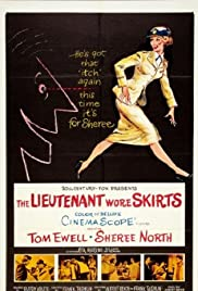 The Lieutenant Wore Skirts Poster