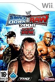 WWE SmackDown vs. RAW 2008 Poster