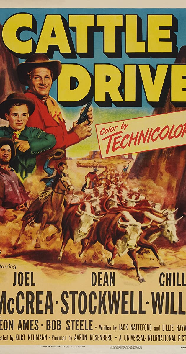 Drive In Movie Toronto >> Cattle Drive (1951) - IMDb