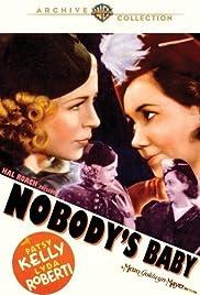 Nobody's Baby Poster