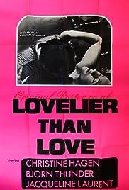 Lovelier Than Love Poster