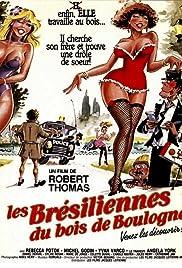 Les Brésiliennes du Bois de Boulogne Poster