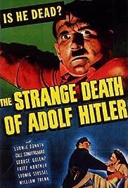 The Strange Death of Adolf Hitler Poster