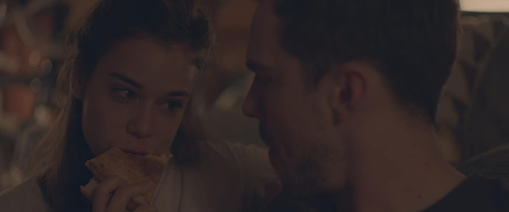 Nicholas Hoult and Laia Costa in Newness (2017)