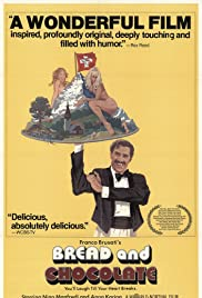 Bread and Chocolate (1974) Poster - Movie Forum, Cast, Reviews