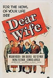 Dear Wife(1949) Poster - Movie Forum, Cast, Reviews