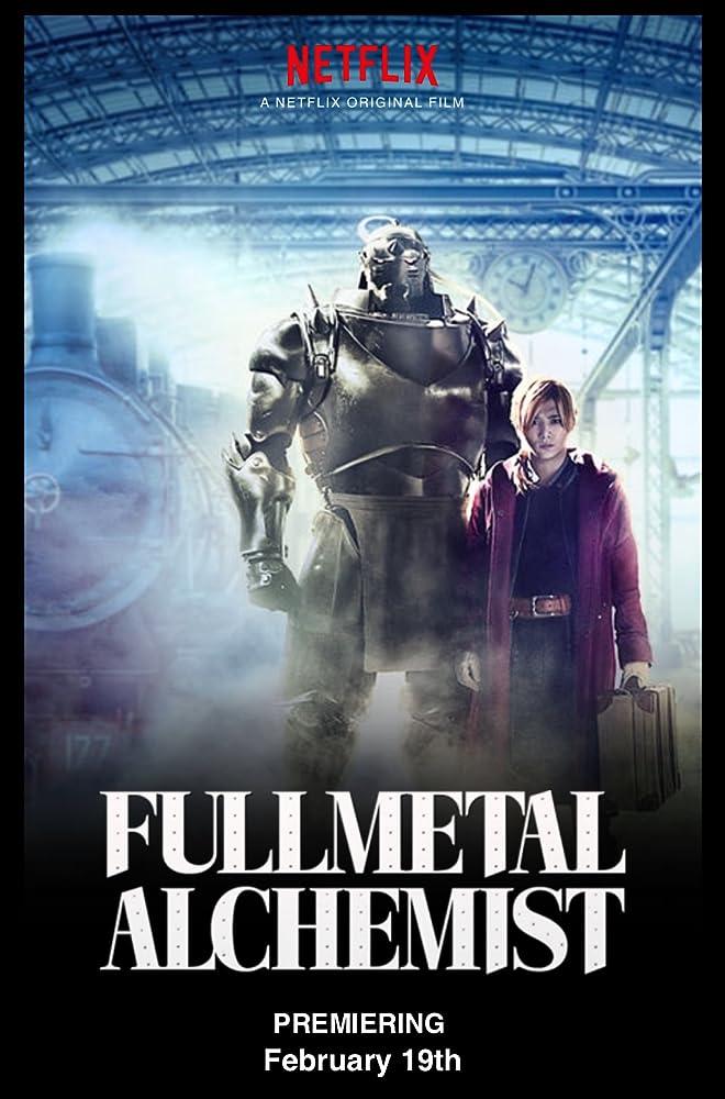 فيلم Fullmetal Alchemist 2017 مترجم