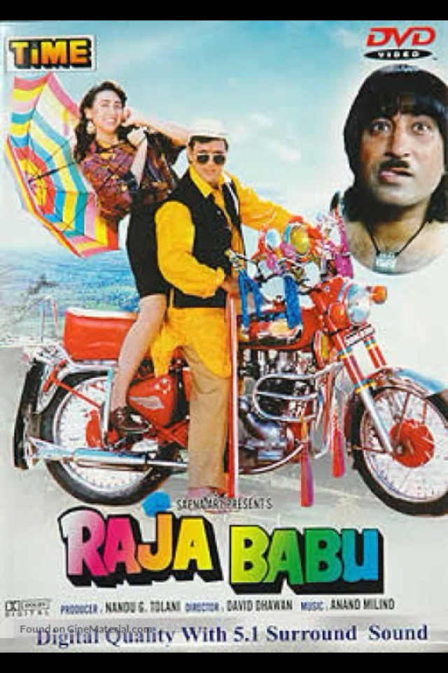 Raja Babu 1994 Hindi WEBHD 720p 1GB MKV