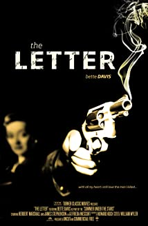 4 letter movie titles the letter 1940 imdb 12988