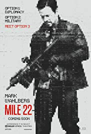 Image result for mile 22 poster